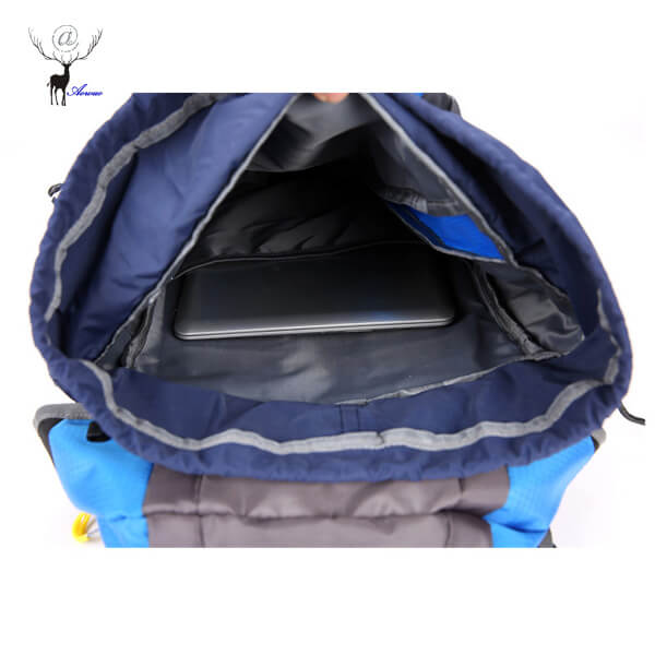 Internal Structure of Hiking Backpack