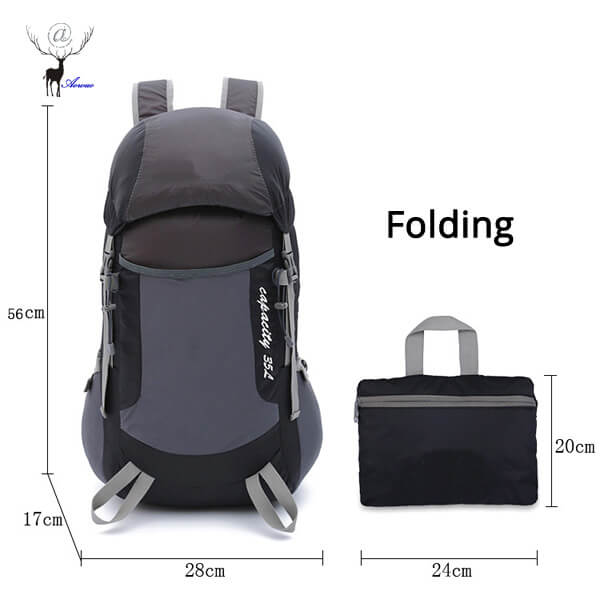 Size of Hiking Backpack